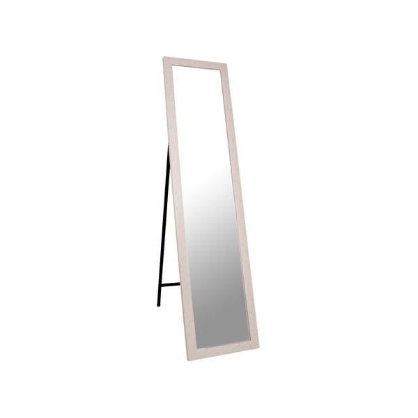 Stojací zrcadlo Standing 37x158 cm, béžový rám