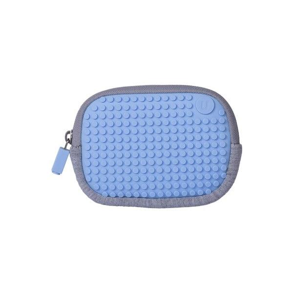 Pixelové univerzální pouzdro, grey/sky blue