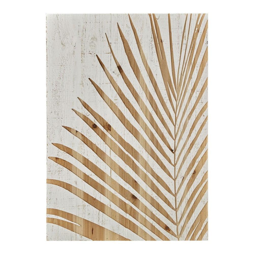 Dřevěný obraz Graham & Brown Palm Leaf, 50 x 70 cm