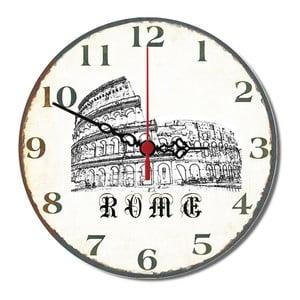 Nástěnné hodina Rome, 30 cm