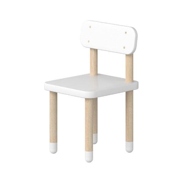 Białe krzesełko dziecięce Flexa Play