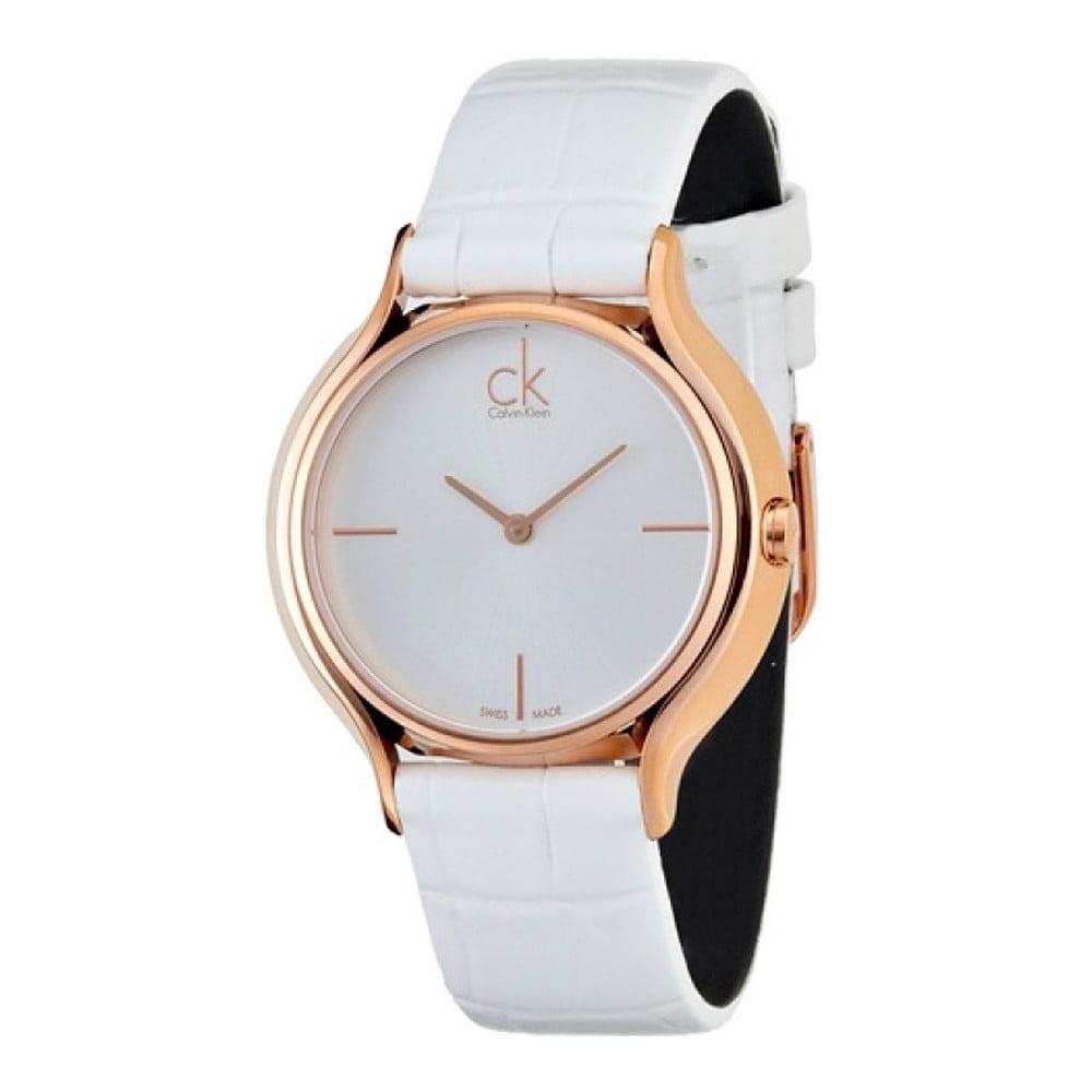 d95d57b144 Dámské bílé hodinky Calvin Klein K2U236K6