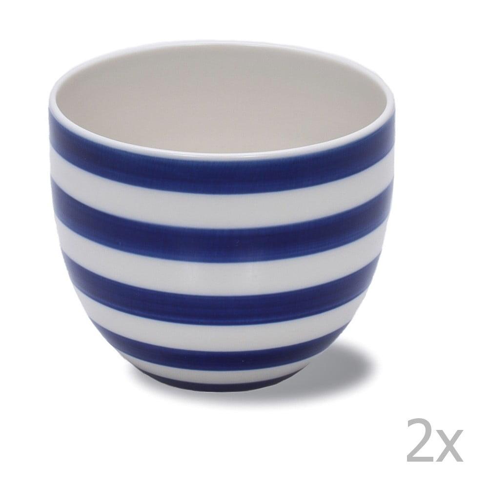 Produktové foto Sada 2 ručně vyráběných porcelánových hrnků Anne Black Albertine