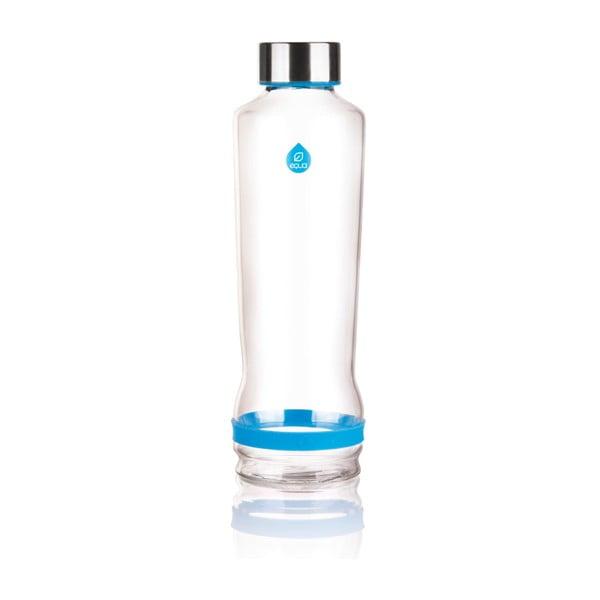 Skleněná lahev Drop Cmyk Cyan, 0,57 l