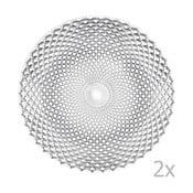 Set 2 farfurii mari din cristal Nachtmann Dancing Stars - Rumba, 32 cm
