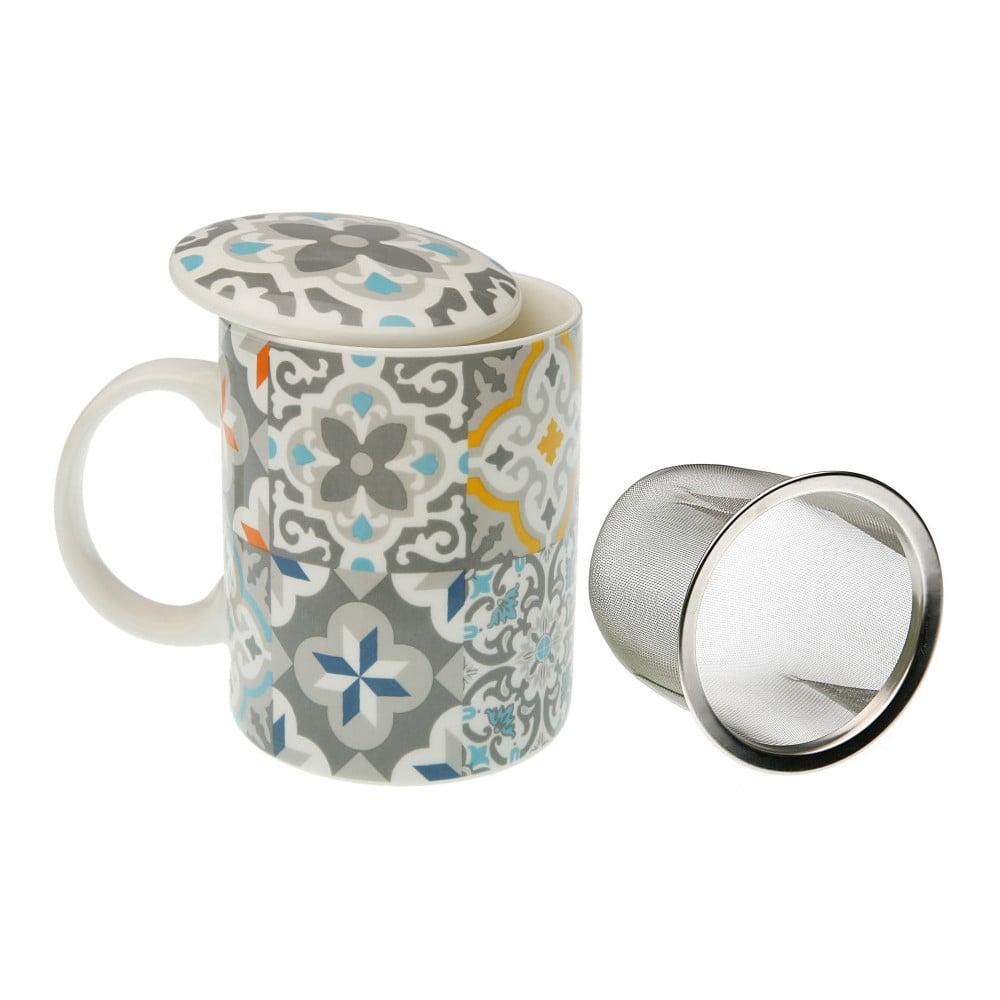 Hrnek na čaj s poklopem a sítkem VERSA Alfama