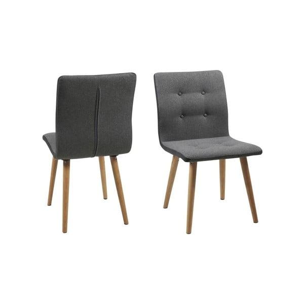 Jídelní židle Frida, světle šedá