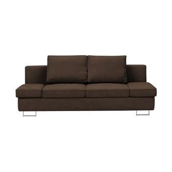 Canapea extensibilă cu două locuri Windsor & Co Sofas Iota, maro