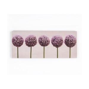 Obraz Graham & Brown Row Of Alliums,100x40cm