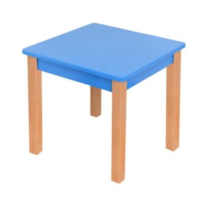Modrý dětský stolek Mobi furniture Mario