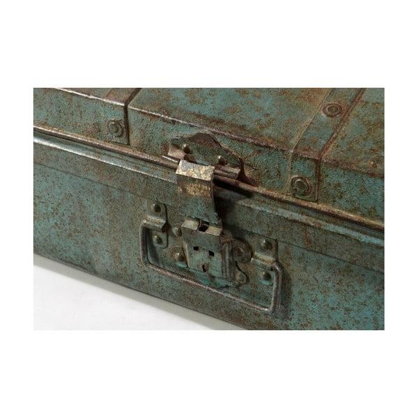 Kufr Orient 37x65 cm, modrý