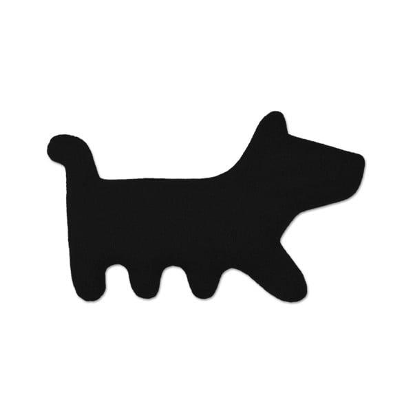 Nahřívací polštářek Pes Bruno, černý