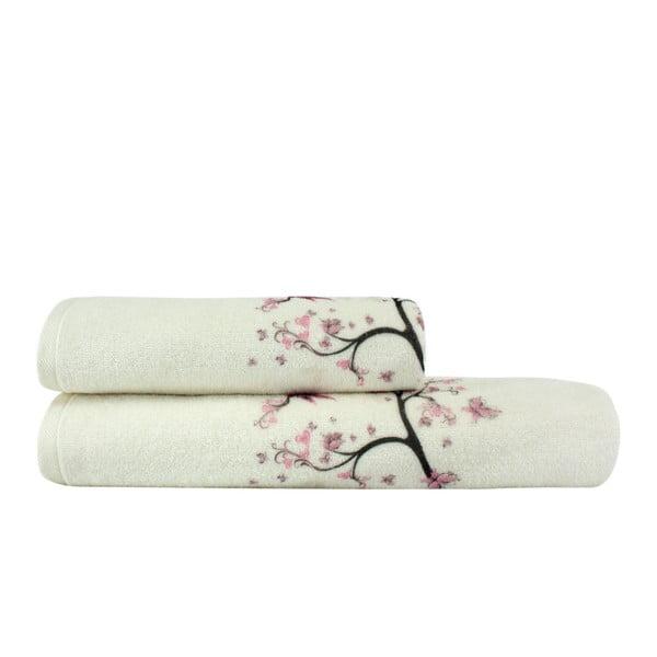 Sada ručníku a osušky Bahar
