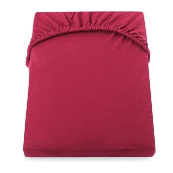 Cearșaf de pat DecoKing Amber Collection, 180-200 x 200 cm, roșu imagine
