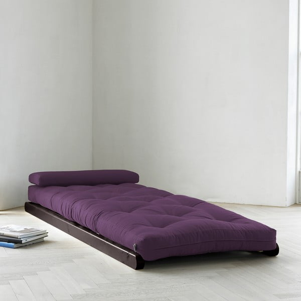 Fotoliu Karup Figo, Wenge/Purple, 70 cm