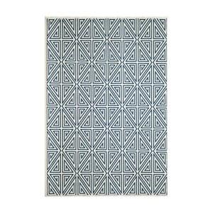 Modrý koberec Nourison Baja Rallo 290 x 201 cm
