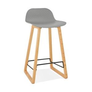 Šedá barová židle Kokoon Astoria