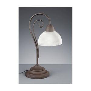 Stolní lampa Country, bílá