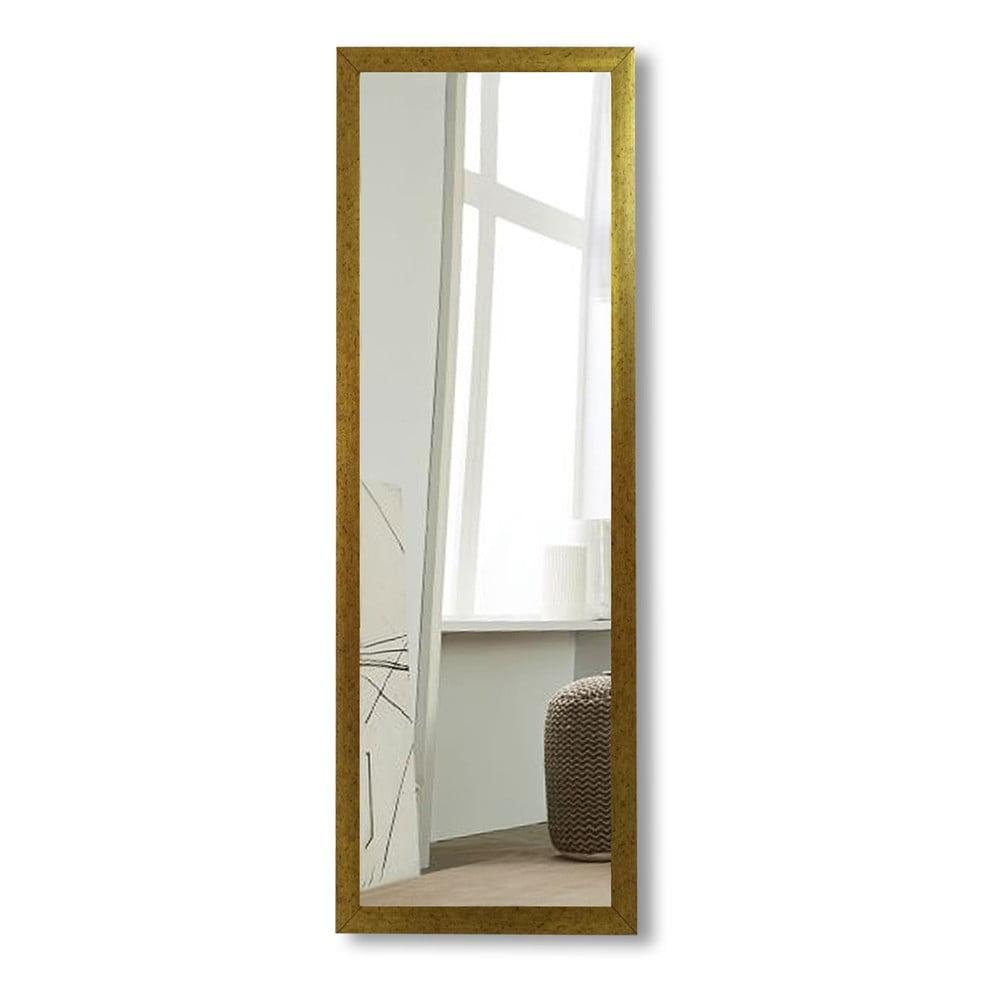 Nástěnné zrcadlo s rámem ve zlaté barvě Oyo Concept, 40 x 105 cm