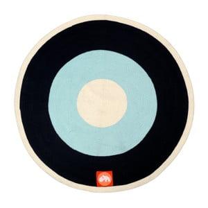 Covoraș Done by Deer, albastru - negru