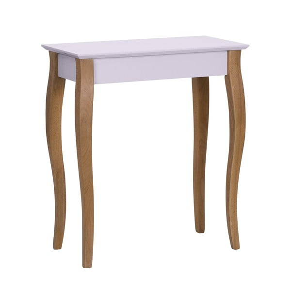 Console rózsaszín kisasztal, hossza 65 cm - Ragaba