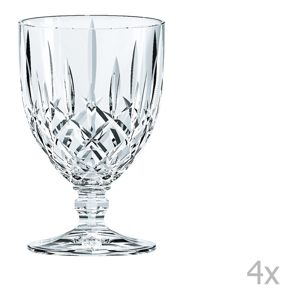 Sada 4 sklenic z křišťálového skla Nachtmann Noblesse Goblet Small, 230 ml