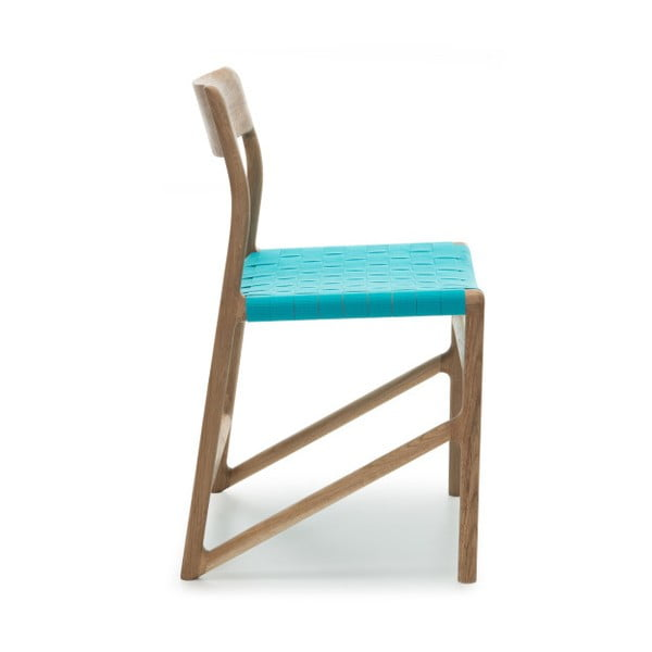 Židle Fawn Natural Gazzda, modrá