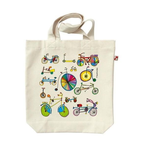 Plátěná taška Bicykly