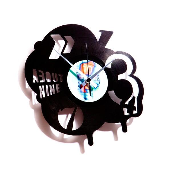 Vinylové hodiny Pop