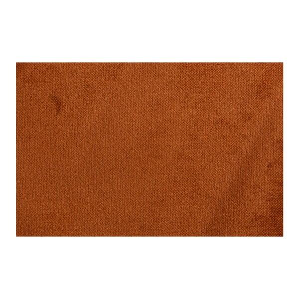 Oranžová trojmístná pohovka BePureHome Rodeo