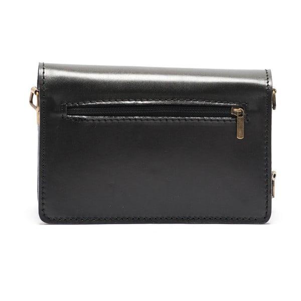 Kožená kabelka Mangotti 3041, černá