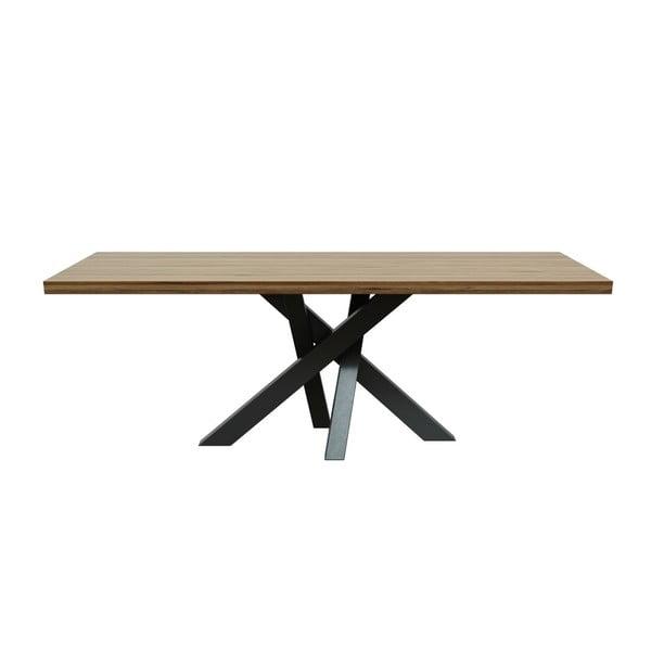 Jedálenský stôl z dubového dreva MESONICA Brook, 100×220 cm