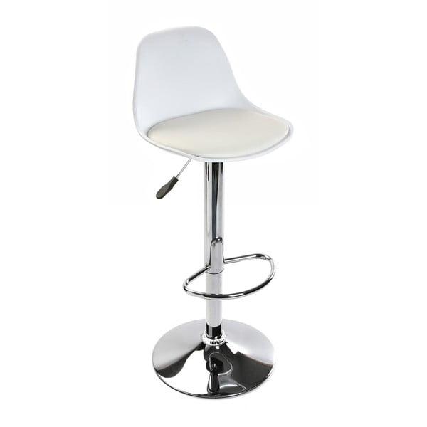 Bílá barová židle Versa Swindon White
