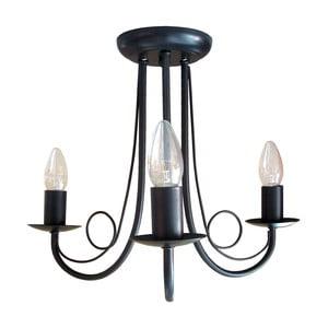 Černý lustr Light Prestige Celine