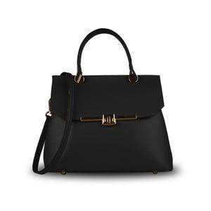 Černá kabelka z pravé kůže JOHN FISH Take