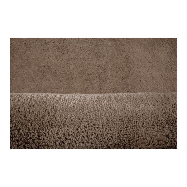 Hnědý ručně vyráběný koberec Obsession My Curacao Cur Taup, 60 x 110 cm