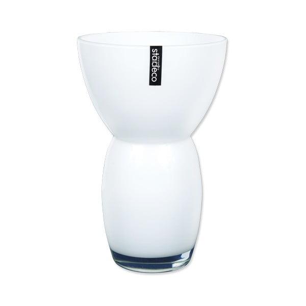Skleněná váza Fornio, bílá