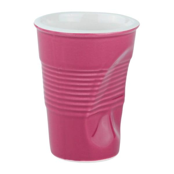 Zmačkaný hrnek 0,2 l, růžový