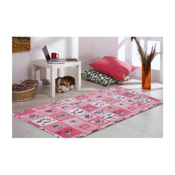 Koberec Bear Pink, 120x160 cm