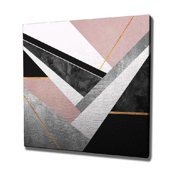 Nástěnný obraz na plátně Geo, 45 x 45 cm