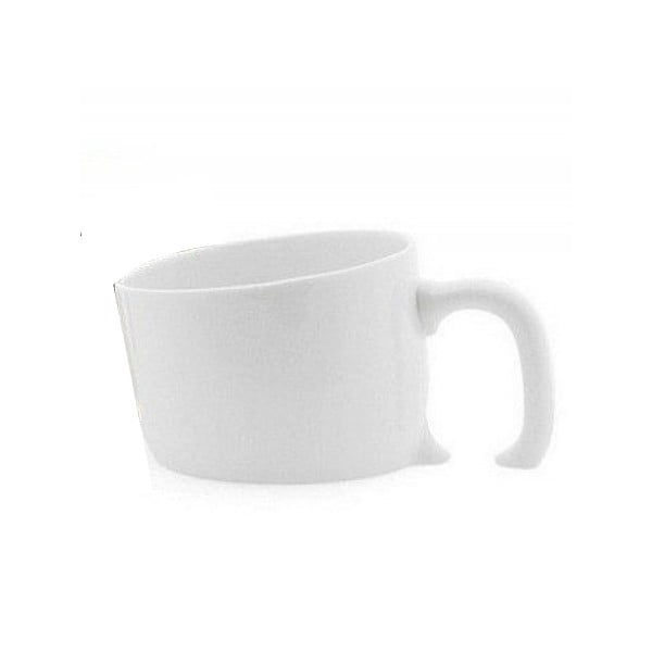 Cană din ceramică Gift Republic, alb