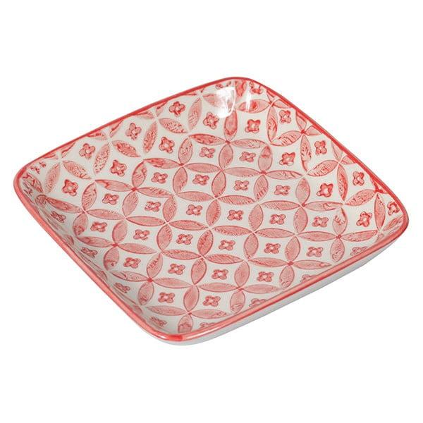 Sada 4 porcelánových talířů Rubis, 12.5 cm