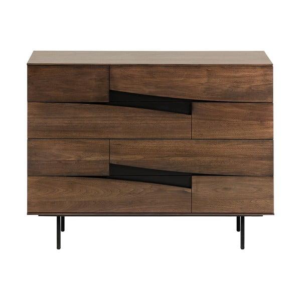 Comodă La Forma Cutt, 120 x 40 cm, maro
