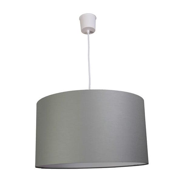Závěsné světlo White Inside Three Gray