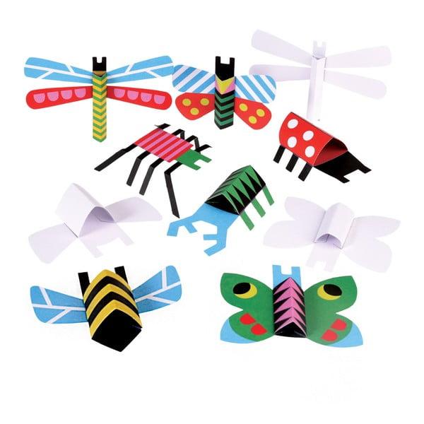 Papírové skládanky Rex London Bugs