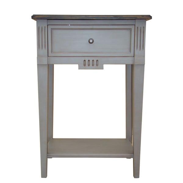 Vyšší odkládací stolek Transilvania Belgique Grey