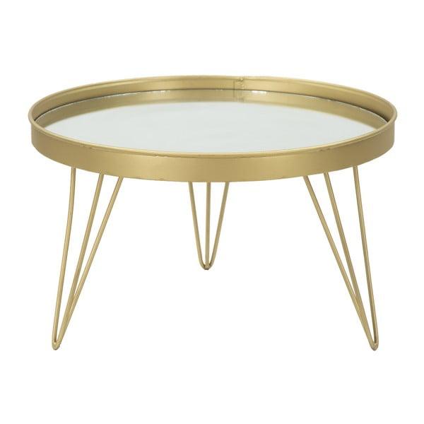 Aranyszínű tálca lábakon, ⌀ 36,5 cm - Mauro Ferretti