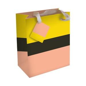 Dárková taška Caroline Gardner Yellowe Peach