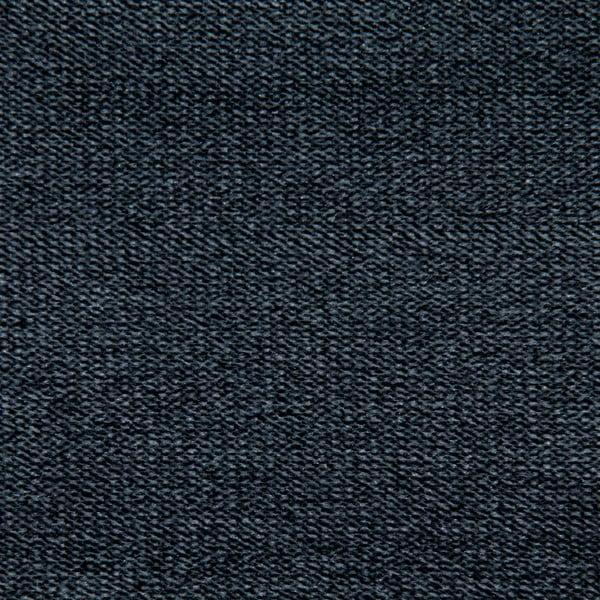 Tmavě šedé křeslo Vivonita Jonan, černé nohy