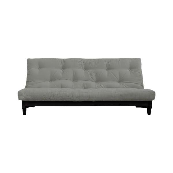 Canapea extensibilă Karup Design Fresh Black, gri